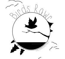 Birds Rawr - World Photographic Print