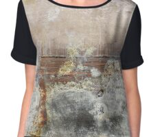 Concrete stains Chiffon Top