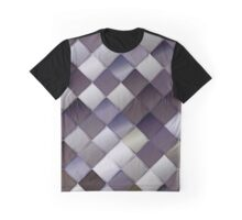 Gray pattern with squares.Trendy hipster print. Modern graphic design. Graphic T-Shirt