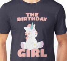 The Birthday Girl - Happy Birthday Magical Unicorn Unisex T-Shirt