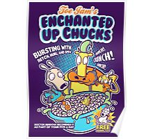Enchanted Up Chucks Poster