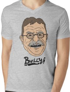 Bully! Mens V-Neck T-Shirt