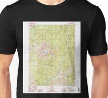 USGS TOPO Map California CA Tangle Blue Lake 295384 1986 24000 geo Unisex T-Shirt