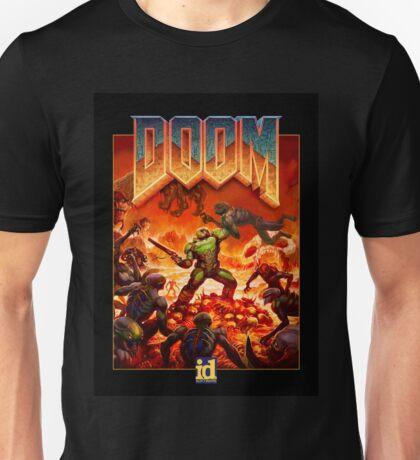 """Doom """"Demon Killer"""" Logo Unisex T-Shirt"""