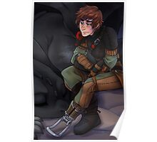 Hiccup and Toothless - How to Train Your Dragon 2 Poster
