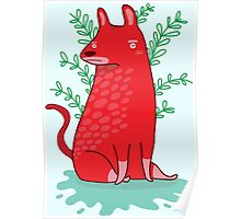 Big red Dog Poster
