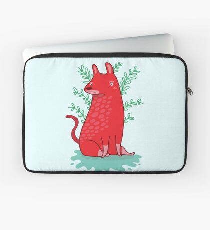 Big red Dog Laptop Sleeve
