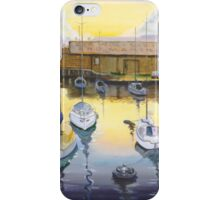 Port Adelaide Sailiing Club Yatchs  Mac Lawries Boatshed 2004  iPhone Case/Skin