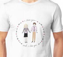 Leslie & Ben Unisex T-Shirt