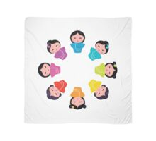New! Manga characters rainbow collection Scarf