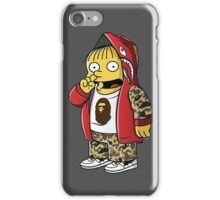 Bape The Simpsons iPhone Case/Skin