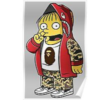 Bape The Simpsons Poster