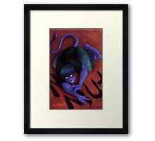 Nightcrawler - BAMF! Framed Print