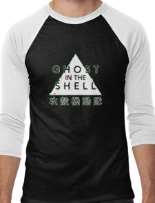 Ghost In The Shell Glitch Men's Baseball ¾ T-Shirt