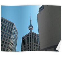 CN Tower: Peaking up Poster