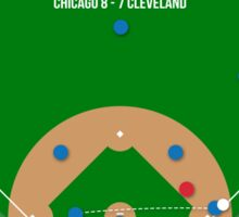 Chicago Are World Champions: The Final Out Sticker