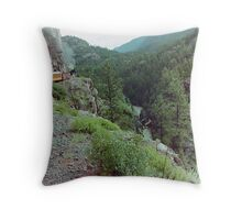 Durango to Silverton Narrow Gauge Railroad, Colorado, USA Throw Pillow