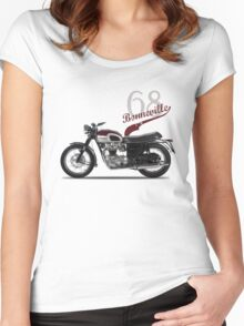 Bonneville T120 1968 Women's Fitted Scoop T-Shirt