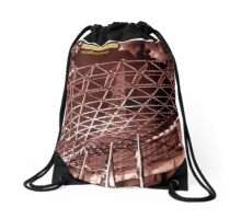 Melbourne nights - architecture -  Drawstring Bag