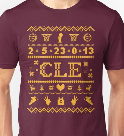 CLE Christmas Sweater Unisex T-Shirt