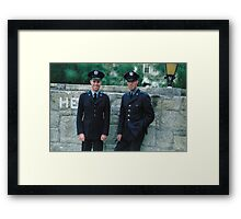 1950s Rio — Officers Framed Print