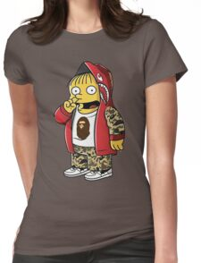 Bape The Simpsons Womens Fitted T-Shirt