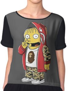 Bape The Simpsons Chiffon Top