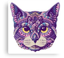 Cat Head (Color Version) Canvas Print