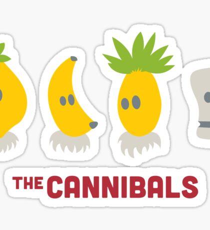 The Cannibals Sticker