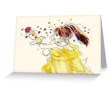 Belle Greeting Card