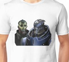 Mass Effect - Thane and Garrus Unisex T-Shirt