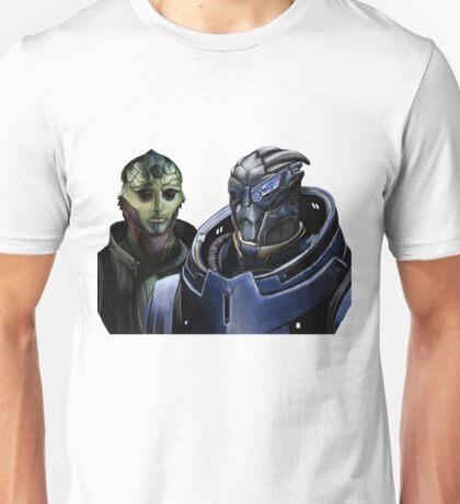 Mass Effect - Thane and Garrus Unisex T-Shirt