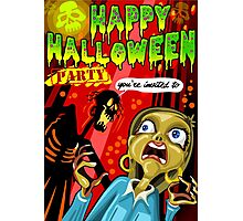 Halloween Party Photographic Print