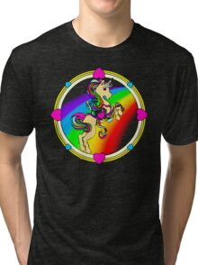 Unicorns are Awesome... Fact! Tri-blend T-Shirt
