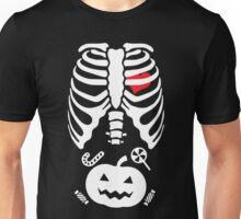 Halloween X Ray Costume Unisex T-Shirt