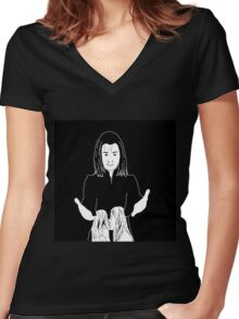 'It's not fair'- Willow and Tara Women's Fitted V-Neck T-Shirt