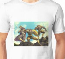 Three Hoarggs Unisex T-Shirt