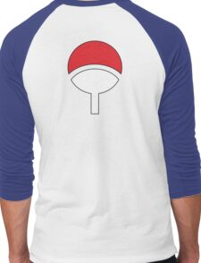 Uchiha Clan Symbol Men's Baseball ¾ T-Shirt