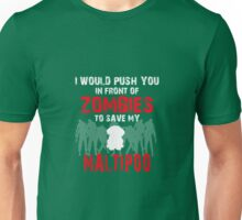 Front Of Zombies Maltipoo Unisex T-Shirt