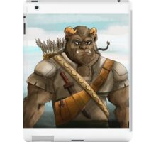 Baragh The Hoargg Warrior iPad Case/Skin