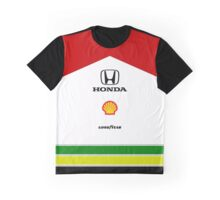 Ayrton Senna MP4-4 minamalist Graphic T-Shirt