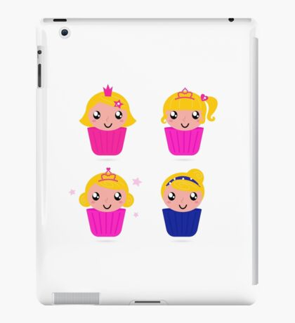 Little princess cakes for your party : pink iPad Case/Skin
