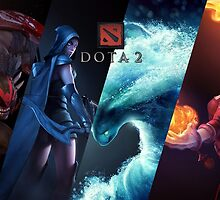 Dota 2 warriors  by bananaclan