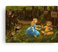 The Baby Horagg Canvas Print