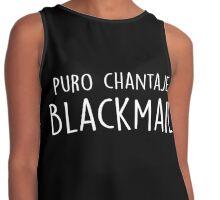 Shakira - Chantaje - Blackmail Contrast Tank