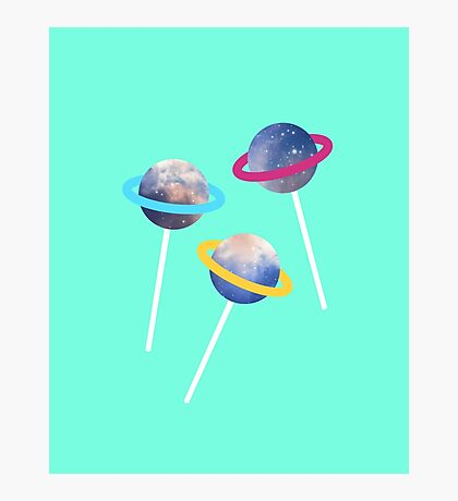 lollipop lost in space Photographic Print