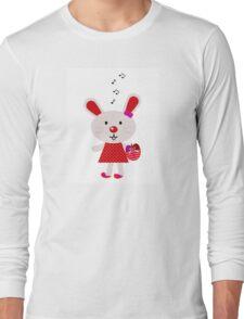 New stylish bunny in shop : Original red artwork Long Sleeve T-Shirt