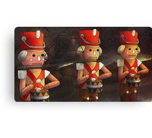 The Marching Soldiers Canvas Print