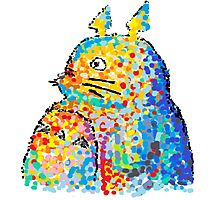 My Neighbour Totoro (colourful/bigger scale) Photographic Print