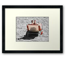 Catching Selective Rays Framed Print